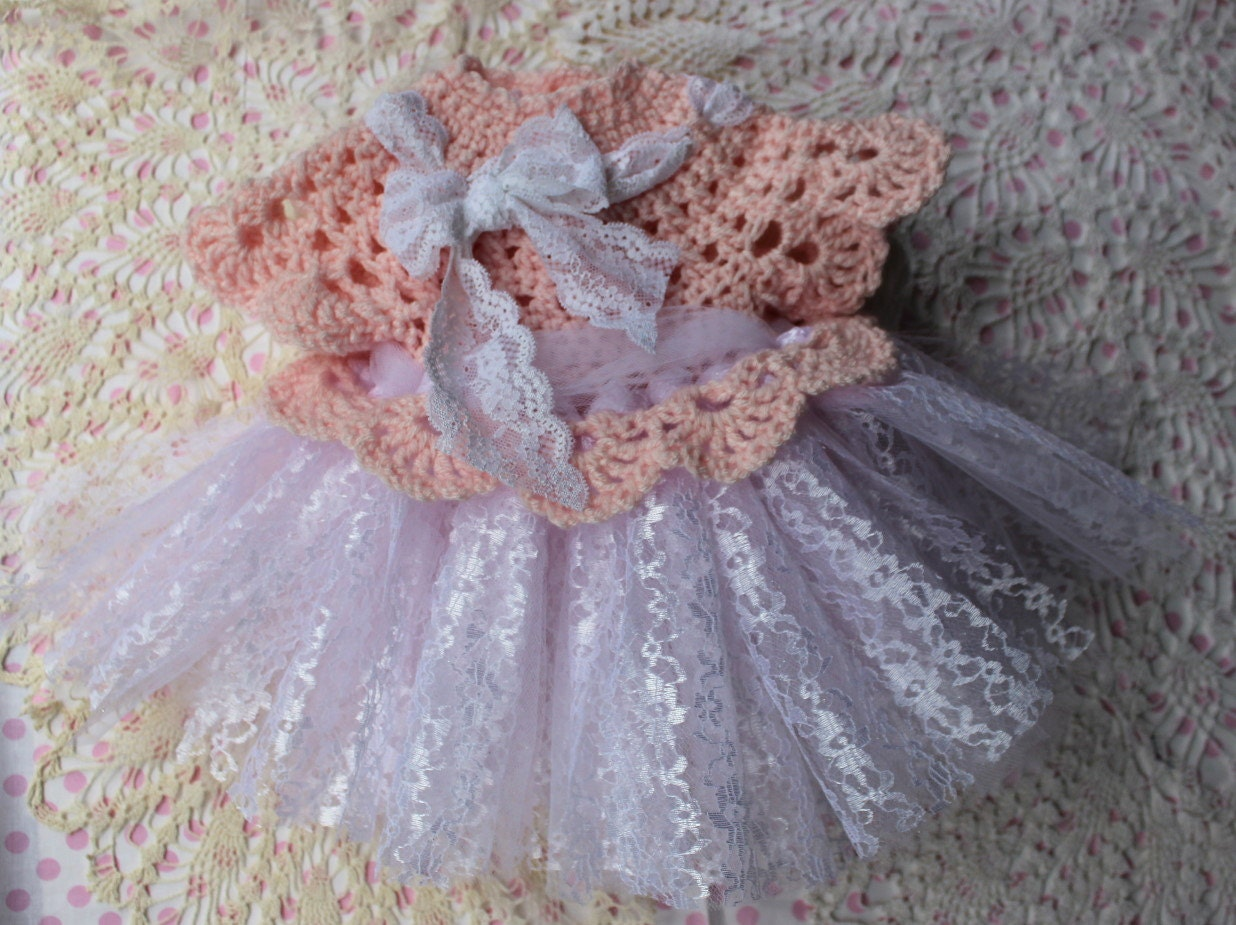 Crochet Baby Tutu Dress Pattern : Tutu Dress Pattern Crochet Dress Pattern Infant Crochet