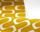 Jessica Jones for Cloud 9 ORGANIC FABRIC - In Theory Barkcloth - Wavelength - Gold