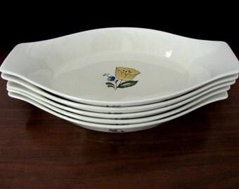 Asta Oven To Table Porcelain Au Gratin Serving Dishes. Set Of Five
