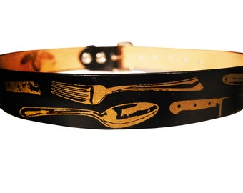 Chef Inspired Leather Belt