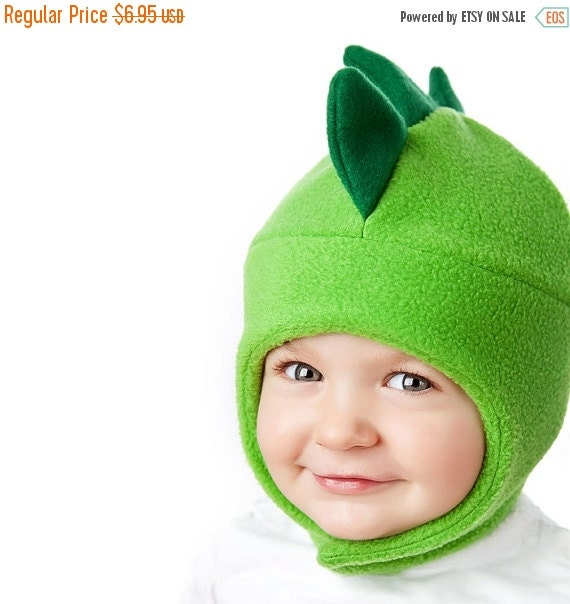 30% OFF Childrens Fleece Hat Pattern - Chin Strap Hat Sewing pattern - Winter Hat Pattern PDF