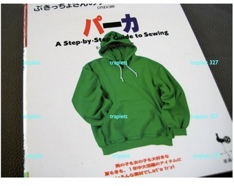 Japanese Craft Book Sewing Outerwear Jackets Parkers Hoodie and more