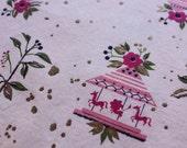 Carousel - Vintage Fabric - 35x38