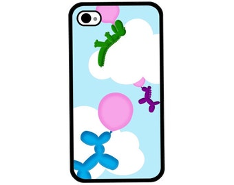 Phone Case - Balloon Animals - Hard Case for iPhone 4, 4s, 5, 5s, 5c, SE, 6, 6 Plus, 7, 7 Plus - iPod Touch 4, 5/6 - Galaxy