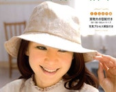 All Season Nice HANDMADE HATS - Japanese Craft Book