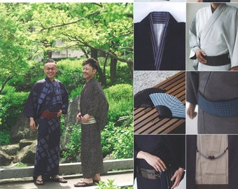 Mens Kimono Reference Book - Japanese Craft Book