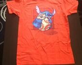 Chew Toy T-Shirt in Orange - Sized Men's Medium