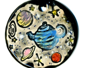 Russell's Teapot Ceramic Necklace