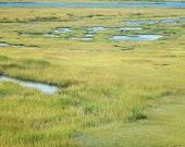 Salt Marsh Landscape Stone Harbor New Jersey Fine Art Photograph