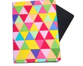 Bright Triangels Travel Passport Cover/Holder/Wallet