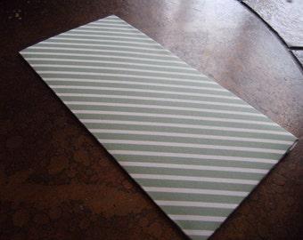 Love Stripe Traveler's Journal 2 Pocket Folder-Regular