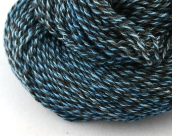 Rockwell Hand Dyed DK weight Wool 280 yds 4oz Pale Lapis