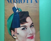 1955 Nomotta Knit Booklet, Couterier Hand Knits, Knit Patterns, Vintage Knitting, Vintage Patterns, Vintage Images, Yarn Crafts