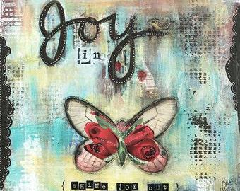 Let Joy In - Fine Art Print