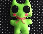 Minou Kitty - Eco-friendly Felt Plush Kitty