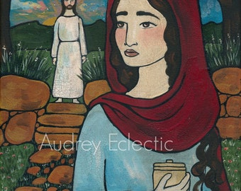 PRINT Mary Magdalen 8x10 Easter art