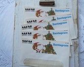 Vintage Western Union Santa Gram Envelopes