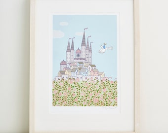 Magic Castle Fine Art Print
