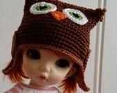 LittleFee/Yosd Hat Little Brown Owl