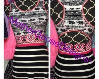 Custom racerback bra or top with phone pocket