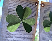St Patricks Day, St patricks day banner, St patricks day garland, wreath, shamrock, clover, shamrock ornaments, 4 leaf clover, green, Irish