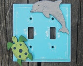 NAUTICAL Kids Switch Plate Cover - Original Hand Painted