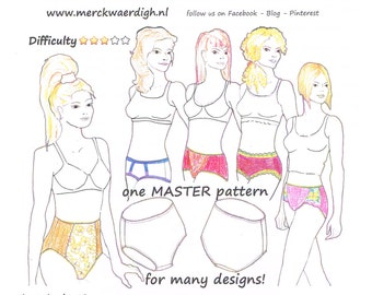 Download MINI-COURSE : design your own PANTY by Merckwaerdigh