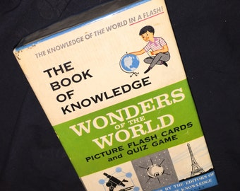 Wonders of the World Flash Cards