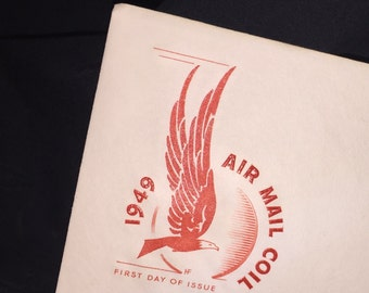 1949 Air Mail Coil First Day Issue Envelope