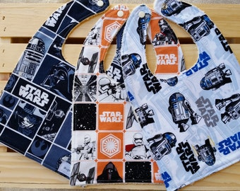 Star Wars Baby Bibs / Star Wars Baby Gift / Baby Bibs