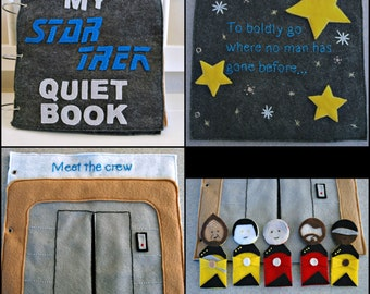 Completed Star Trek Quiet Book