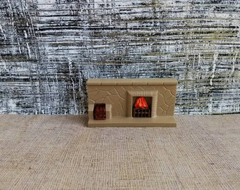 Dol Toi Fireplace 1:16 Scale