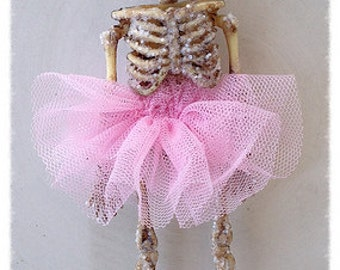 Halloween Decoration Skeleton Ballerina Halloween Ornament Halloween Party