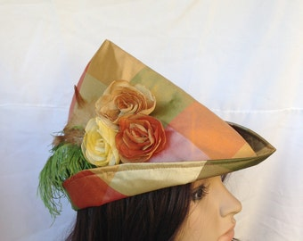 Medieval Bycocket Forester Women's Robin Hood Renaissance Faire Hat