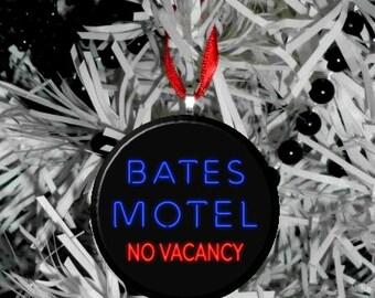 "Psycho Bates Motel 2.25"" Christmas Tree Ornament"