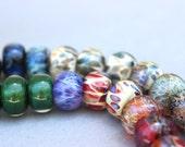 Orphan Boro Lampwork Bead Set - 25 Beads