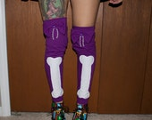 bones and bows leg warmers
