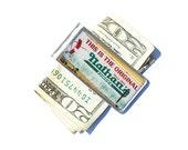Money Clip- Nathan's Money Clip, NYC Money Clip, Brooklyn Money Clip, Billfold