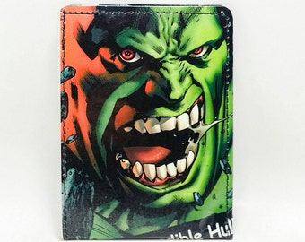 Sewn Comic Book Wallet - Hulk