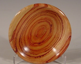 Exotic Tulipwood Ring Dish Wood Bowl number 6034 turned by Bryan Tyler Nelson is Nelsonwood