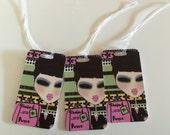 Custom order for Melinda 3 Luggage tags