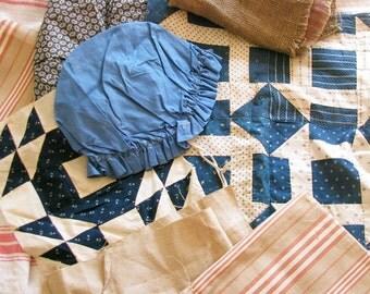 Rag Bag Girls Unite...Antique Ticking, Calico, & Linen