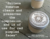 1772 Sultana Pomatum - Great For All Types Of Skin Problems-  Historical Apothecary