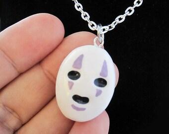 No Face Kaonashi Spirited Away Lightweight Necklace