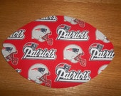 Mouse Pad, NFL, New England Patriots, Mouse Pads, Mousepad, Desk Accessories, Mouse Mat, Office Decor, Football Shape, Computer Mouse Pad
