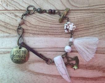Love the Journey Gypsy Bracelet