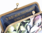 Custom gift for her, mother of the bride, mother in law, motivational quote, message label, bridesmaid present, custom lettering