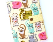 Kindle Cover Cute Cat Print Hardcover for Kindle Paperwhite kindle 4 case