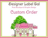 "4"" x 2"" Personalized Labels"