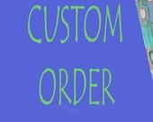 CUSTOM ORDER - avans